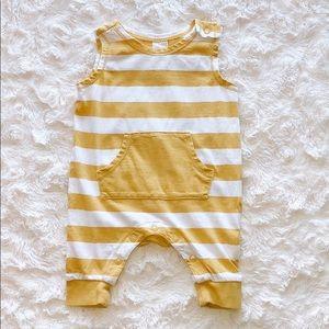 Newborn H&M Striped Onesie